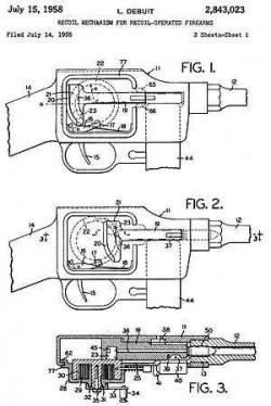 Маховичный механизм пистолета-пулемета MGD ERMA PM9