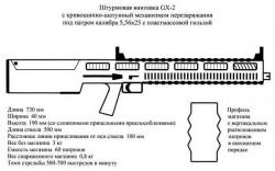 Штурмовая винтовка GX-2