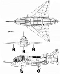 Экспериментальный самолёт Short SC.1