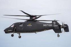 Перспективный вертолёт Sikorsky S-97 «Raider»