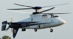Опытный вертолёт Sikorsky X2 / S-97 Raider