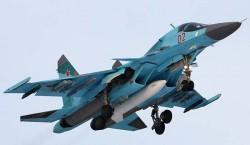 Разведывательно-ударный самолет Су-32ФН
