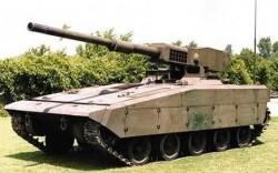 Опытный лёгкий танк TCM-20 AGS