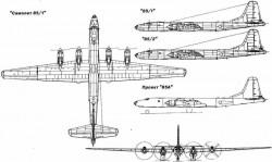 Опытный бомбардировщик «85» / Ту-85