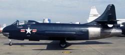 Палубный истребитель Vought F6U-1 «Pirate»