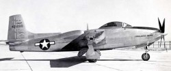 истребитель Consolidated Vultee XP-81