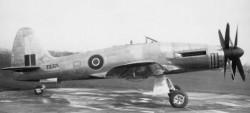 Палубный бомбардировщик Westland Wyvern