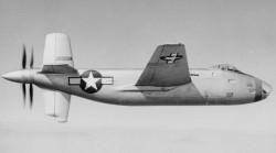 Опытный бомбардировщик Douglas XB-42 Mixmaster