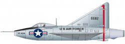 Опытный перехватчик Convair XF-92A