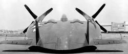 Опытный истребитель Vought XF5U Skimmer