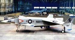 Опытный истребитель Rockwell XFV-12A