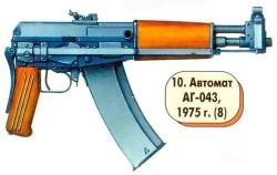 Малогабаритный автомат АГ-043