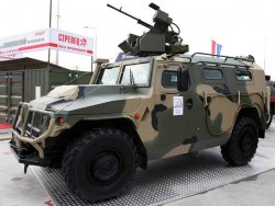 Многоцелевой бронеавтомобиль АМН 233114 «Тигр-М»