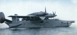 Опытный поисково-спасательный самолет-амфибия Бе-14