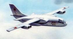 Проект военно-транспортного самолёта СВВП Бе-32 1967 года