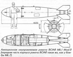 Неуправляемая авиационная ракета BOAR
