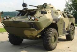 Бронированная разведывательно-дозорная машина БРДМ-2