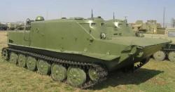 Командно-штабная машина БТР-50ПУ