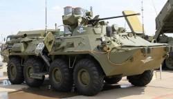 Колёсный бронетранспортёр БТР-82А