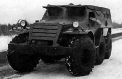 Опытный бронетранспортёр БТР-Э152В
