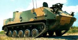 Опытный бронетранспортер БТР-МД «Ракушка»