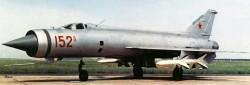 Опытный истребитель-перехватчик Е-152