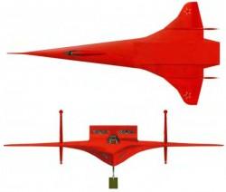 Проект фронтового бомбардировщика Ф-57