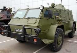 Бронеавтомобиль ГАЗ-3937 «Водник»