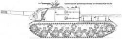 Самоходная артиллерийская установка ИСУ-152М