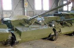 Опытная САУ К-73 (АСУ-57П)
