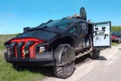 Опытный армейский бронеавтомобиль «Каратель»