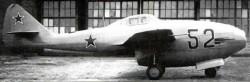 Опытный истребитель Ла-152