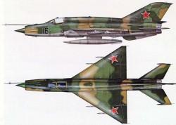 Истребитель МиГ-21М