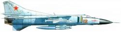 Фронтовой истребитель МиГ-23М