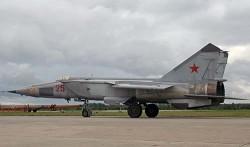 Самолет-разведчик МиГ-25Р