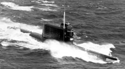 Дизельная подводная лодка пр.629