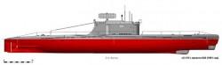 Дизельная подводная лодка пр.640 (Россия)