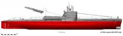 Дизельная подводная лодка пр.644 (Россия)
