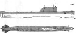Подводные лодки проекта 658 и 658М