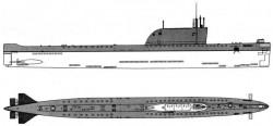 Атомные подводные лодки пр.658М (Россия)