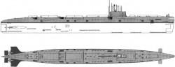 Атомные подводные лодки пр.659 (Россия)