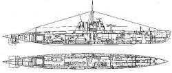 Дизельная подводная лодка пр.95