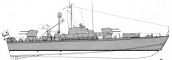 Торпедный катер проекта 183