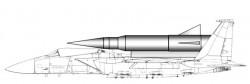 Проект авиационного ракетного комплекса F-15GSE