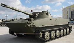Плавающий танк ПТ-76Б