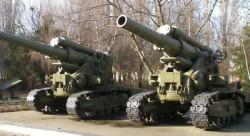180-мм пушка С-23 / 203-мм гаубица С-33 / 280-мм С-43