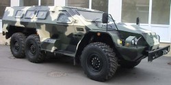 Бронированный автомобиль СБА-60-К2 «Булат»