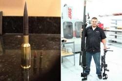 Опытная снайперская винтовка 14,9 mm SOP