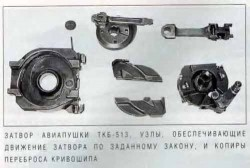 Механизм перезаряжания пушки АО-7 (ТКБ-513)