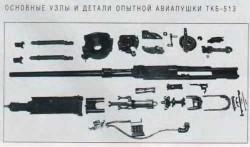 Узлы и детали пушки АО-7(ТКБ-513)